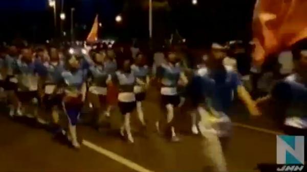 中国で「爆走団」が問題に 1万人で音楽大音量で流し車道占拠してウォーキング