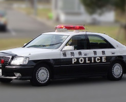 福岡県警がパトカーの鍵を盗まれたの巻