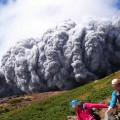 御嶽山が大噴火 噴火直後