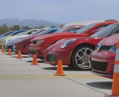 スーパーカーの加速競争ゼロヨン