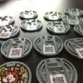 妖怪メダルの複製