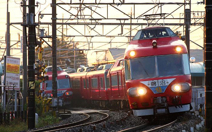 名鉄パノラマカー7000系