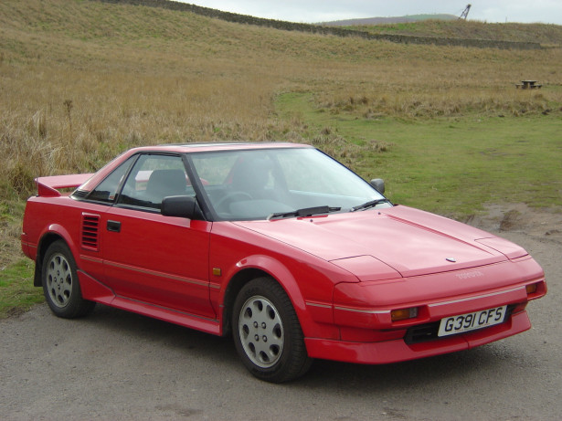 1989 Toyota MR2 AW11