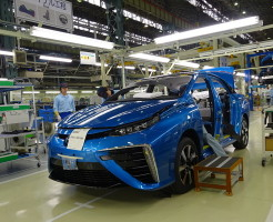 トヨタ・ミライ 量産化