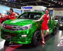 いすゞD-MAX バンコクモーターショー2015
