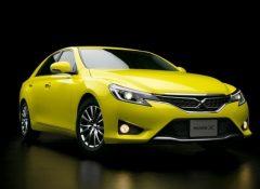 トヨタ、黄色いマークXを発売