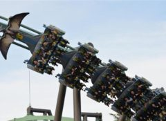 USJの新しいコースター「ザ・フライング・ダイナソー」と風神・雷神、どっちが怖いの?