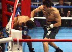 ボクシング・村田の試合で謎のレフリングwwwww